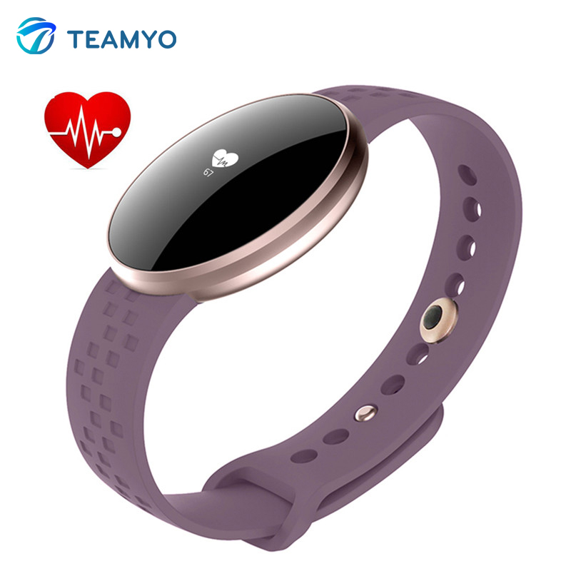 Teamyo B16 fitness tracker monitor cardiaco pulseira inteligente activity monitor step counter smart wristband Waterproof IP67