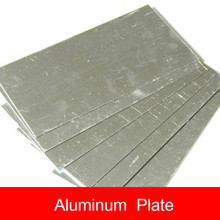 DIY manual hard aluminum plate 10*20CM board building model material sheet aircraft automobile ship model material недорого