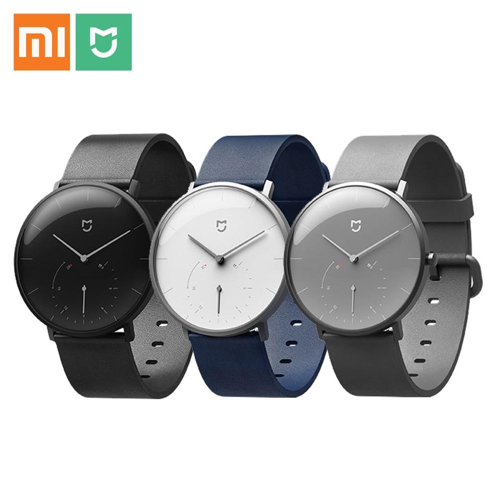 Original Xiaomi Mijia Smartwatch Quartz Waterproof 3ATM Smart Watch Bluetooth 4.0 Pedometer Wristband for Android iOS