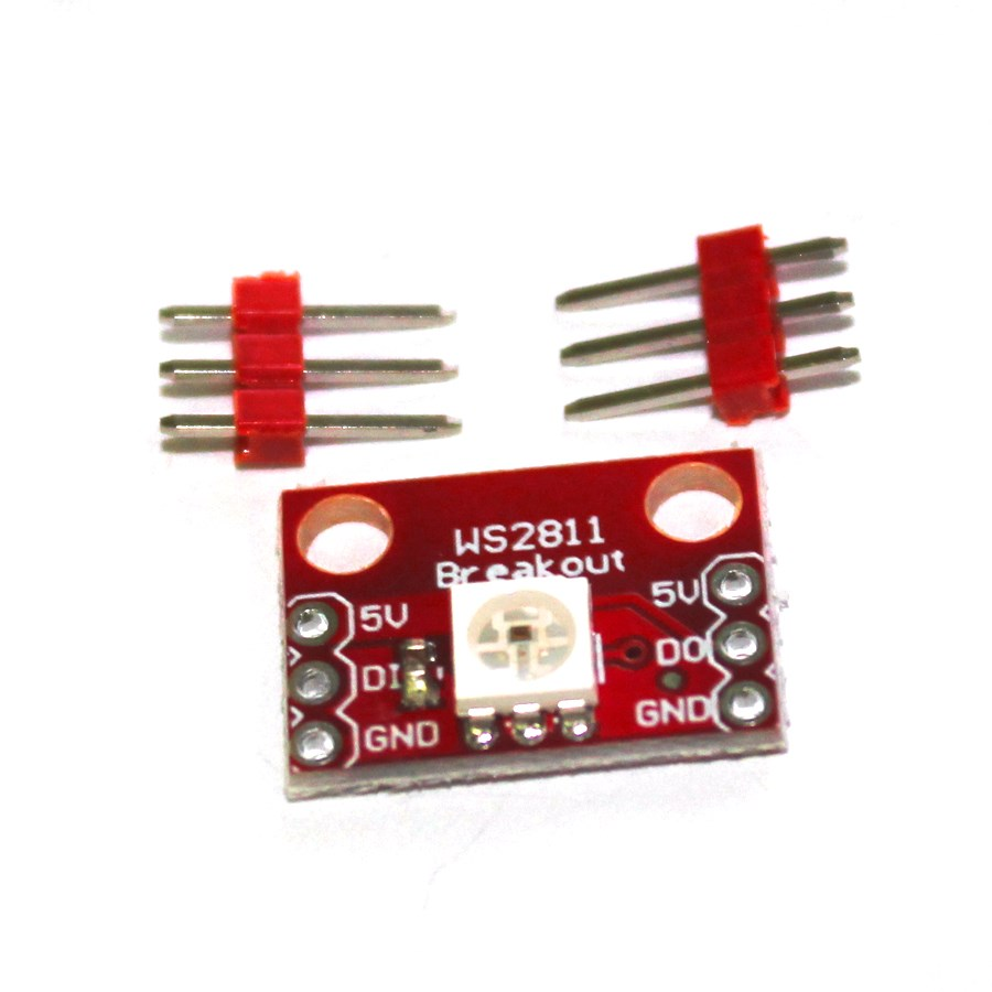 10Pcs/lot WS2812  WS2811  RGB LED Breakout Module For Arduino