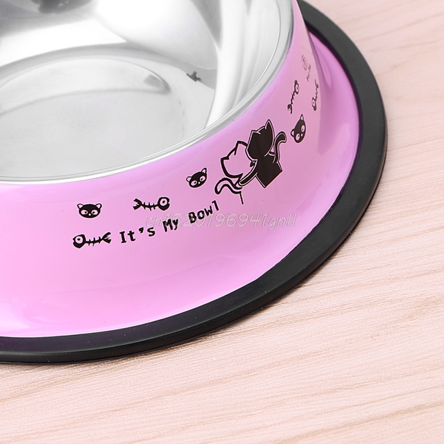 Cat Stainless Steel Bowl  2