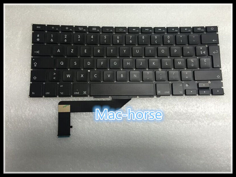 New notebook Laptop keyboard for Apple Macbook Air 11.6  A1370 A1466 FR/French layout original new laptop keyboard for apple macbook a1260 keyboard free shipping
