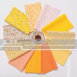 Image 5 - Random Thin Cotton Fabric Patchwork For Sewing Scrapbooking Fat Quarters Tissue Quilt Pattern Needlework Scraps 80pcs 20x24cm