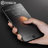 TOMKAS Tempered Glass For IPhone 7 6 6s Plus Real 3D Matte Anti Fingerprint Tempered Glass