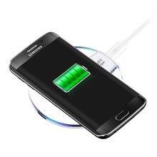 Qi Беспроводной Зарядное устройство зарядки зарядная площадка для Samsung Galaxy S6 S6 край S6 Edge Plus S7 S7 Edge Note 5 Google Nexu4/5 Lumia 920