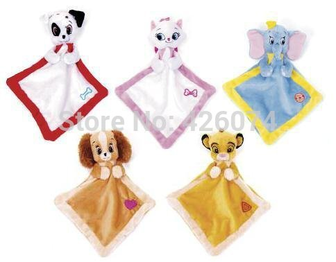 The Lion King Simba Lady and the Tramp Marie Baby Plush Mini Comfort ...