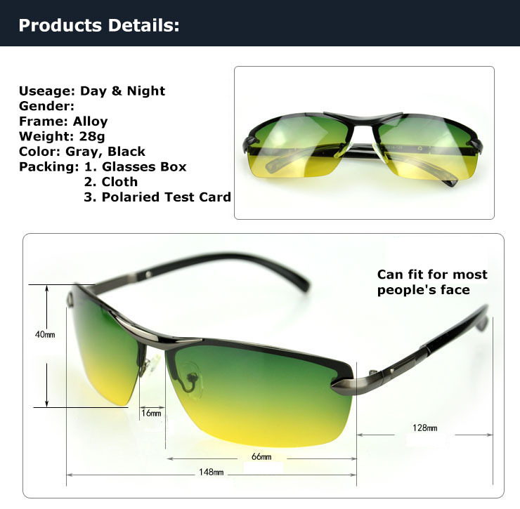 driving glasses polarized  Aliexpress.com : Buy Day \u0026 Night Multifunction Polarized Goggles ...