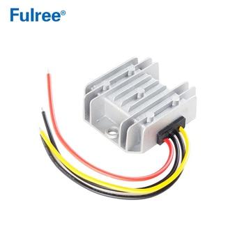 Convertidor reductor de CC de 24V, 36V, 48V, 60V a 12V, 1A, 2A, 3A, 5A, 8A, resistente al agua, convertidor de 20-72V a Fuente de alimentación de coche, 12V de CC 1