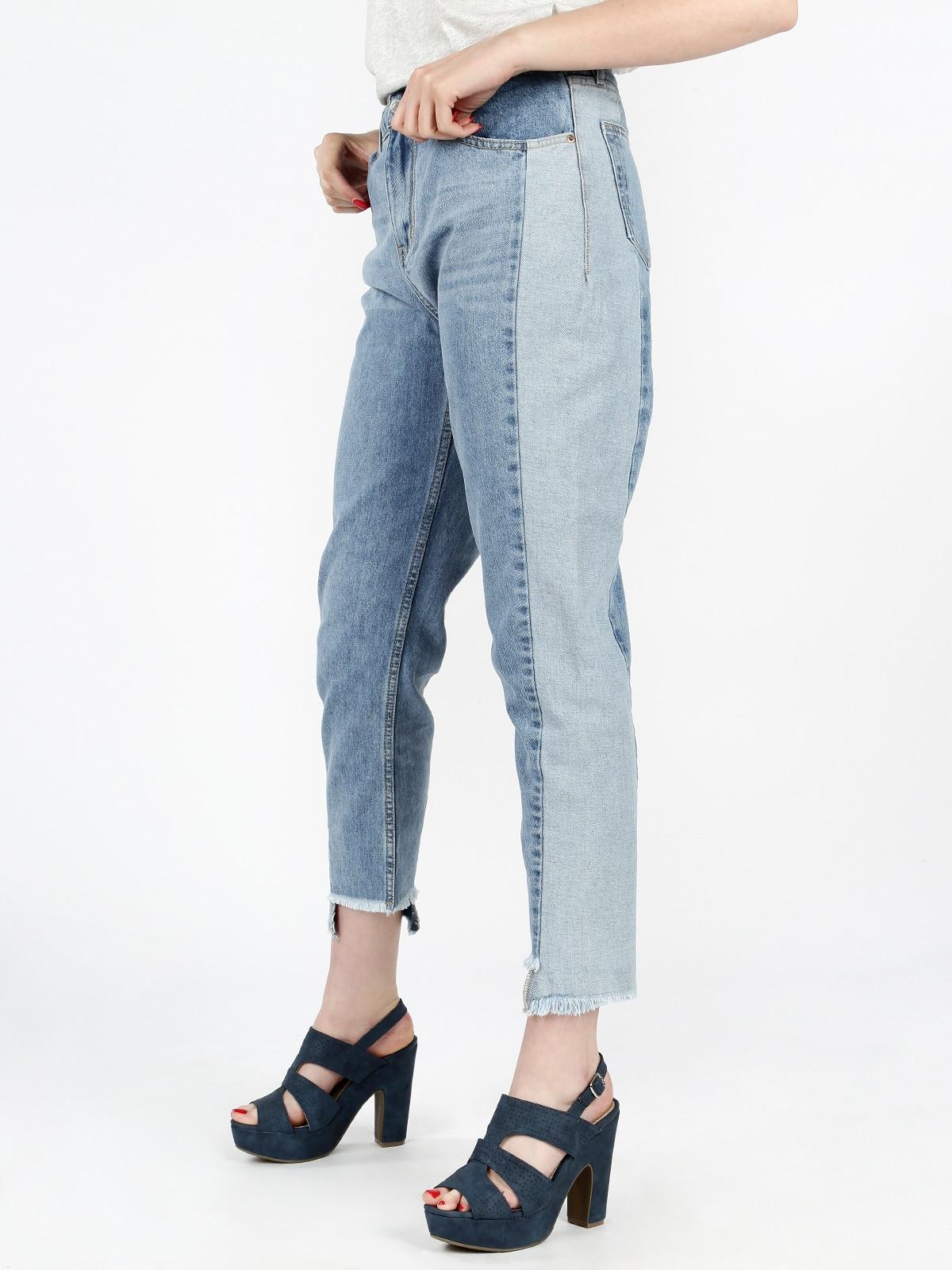 Boyfriend Jeans Frayed