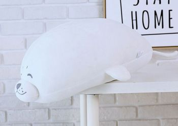 big lovely plush white seal toy stuffed soft seal doll gift about 70cm 2755