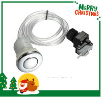 SPA PEDICURE PARTS AIR SWITCH/ PUSH BUTTON/ AIR BUTTON CHROME COVER Garbage Disposer Disposal Air Switch Kit push button