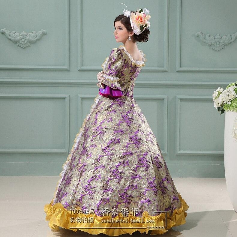 Noble Elegant Ladies Century Medieval Renaissance Victorian Dress ...
