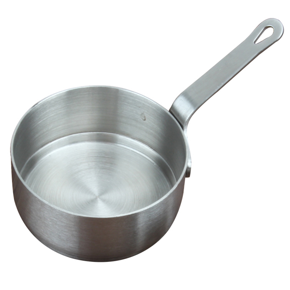 Soup Pot Mini With Handle Heating Kitchen Portable Stainless Steel Sauce Pan