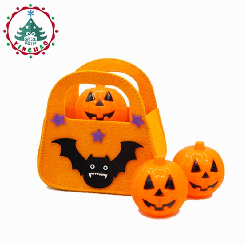 inhoo 2db Classic Bat Handheld táskák Candy táskák Halloween - Ünnepi és party kellékek