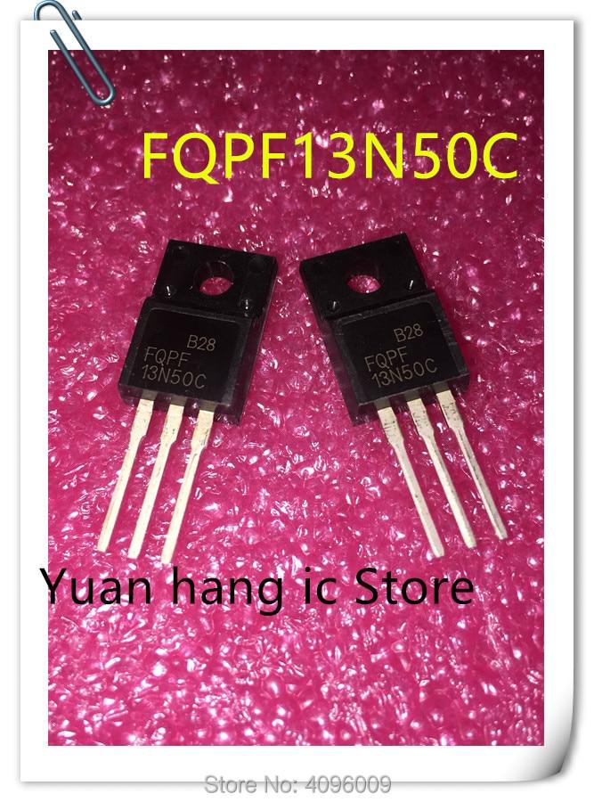 10Pcs//lot Mosfet STP13NK50Z 13NK50Z 500V 11A TO-220F Mosfet