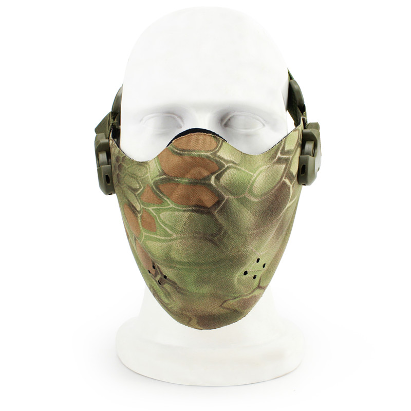Tactical SHARPTECK Lower Half Face Protect Mask Guard Gear For Airsoft BB Gun CS War Game Paintball cycle Skull Mask