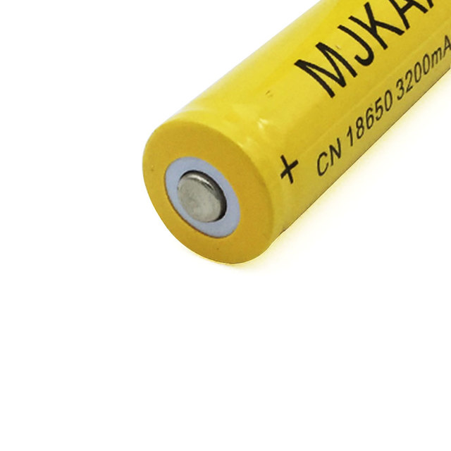 2pcs 18650 Rechargeable Batteries(Not AA battery) 3.7v 3200mAh Lithium Li-ion Battery Flashlight laser 18650 3.7v 18650 battery