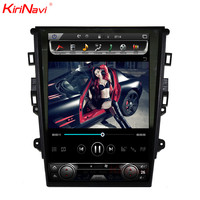 KiriNavi Vertical Screen Tesla Style 12.1 Inch Touch Screen Gps Navigation For Ford Mondeo Car Radio Dvd Android Multimedia 4g