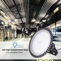 SMD 2835 LED Ultra Thin UFO LED High Bay Light AC 110V ultra thin and ultra light Warehouse Lighting Fixture 100W/200W/300W