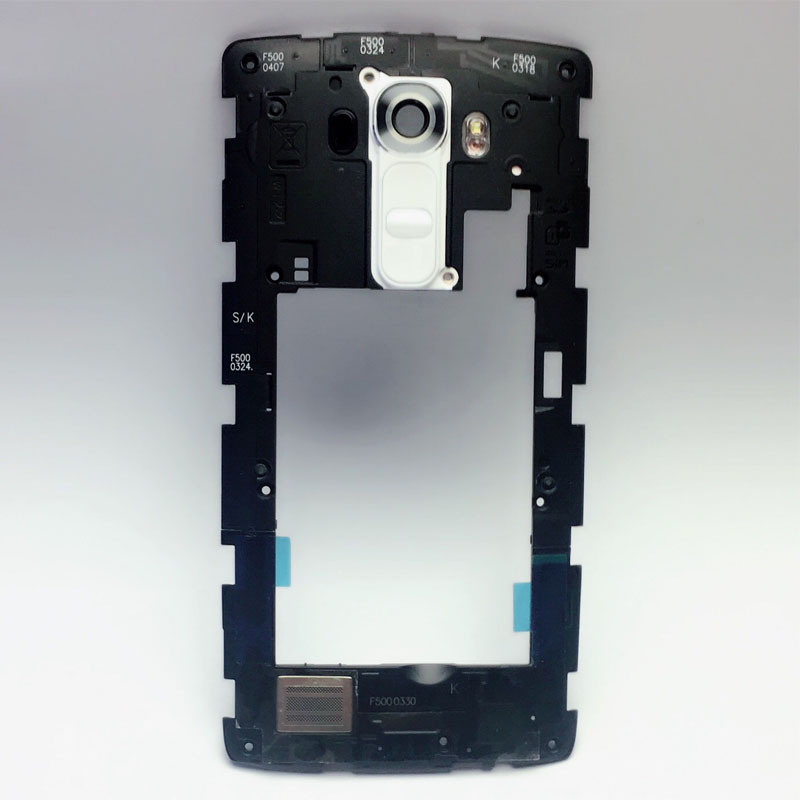 For LG G4 H811 H810 H815 Back Rear Frame Bezel Housing+ Camera Glass Lens Cover image