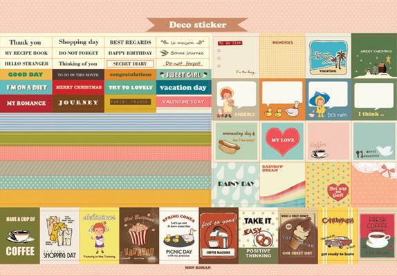 Design Kalender | 2018 Roman Retro Muster Design Kalender Mit Aufkleber Desktop