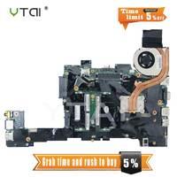 YTAI 04W3280 X220T para Lenovo ThinkPad X220T Tablet laptop i7-2640M Placa Base con CPU: i7-2640M USB2.0 Mainboard probado completamente