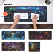 Babaite In Stocked Starcraft Durable Rubber Mouse Mat Pad Rubber PC Computer Gaming mousepad tecknet gaming office mouse pad mat ergonomic mousepad build in soft sponge with gel rest wrist support