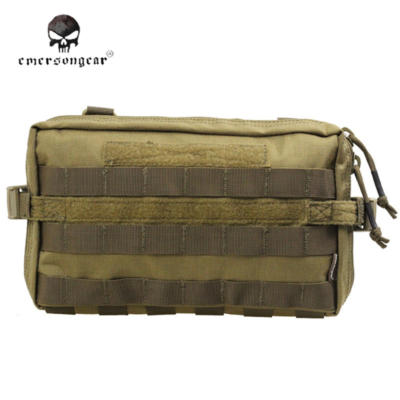 ФОТО EMERSON 1000D Multi-functional  Molle EDC Gear Utility Waist Pouch Bag Tactical Packs Survival Camping Storage Bags 32X18CM