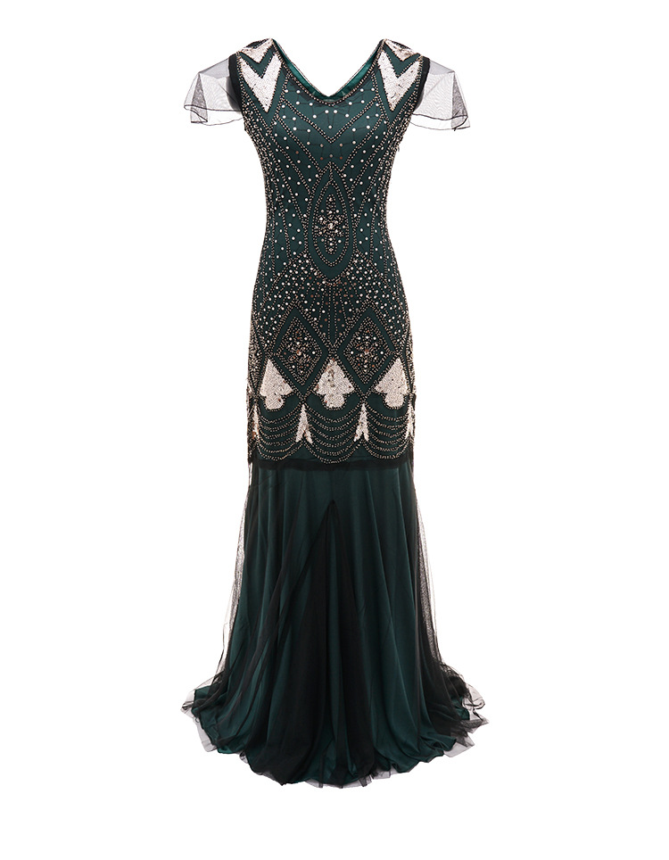 8 fantaisie robe avec paillettes smoking bars et boîtes de nuit TV23 ZM