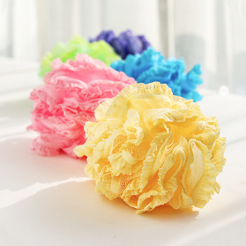 Multicolour Bath Ball Bathsite Bath Tubs Cool Ball Bath Towel Scrubber Body Cleaning Mesh Shower Wash Sponge Product Shower Use