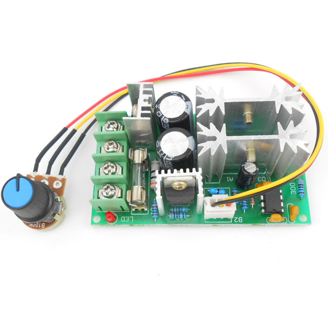 Electronic Components & Supplies Universal Dc10-60v Pwm Hho Rc Motor Speed Regulator Controller Switch 20a Active Components