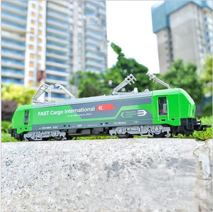 Image 1 - 1:32 alloy single section tram model,pull back train model,simulation of colorful lights,can open childrens toys