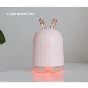 Image 5 - 220ml ארומה חיוני שמן מפזר אולטרסאונד אוויר אדים Usb Fogger יצרנית ערפל עם Led לילה מנורת לבית רכב