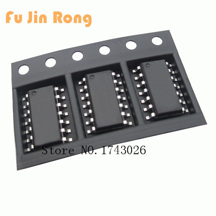 Original 20pcs/lot <font><b>LMC660</b></font> LMC660AIM LMC660CM SOP14 Op amp chip SMD IC image