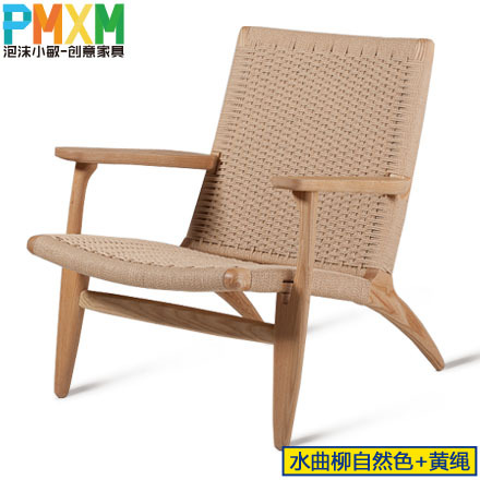 Well known Upscale casual recliner chair simple and stylish handmade woven  OQ72