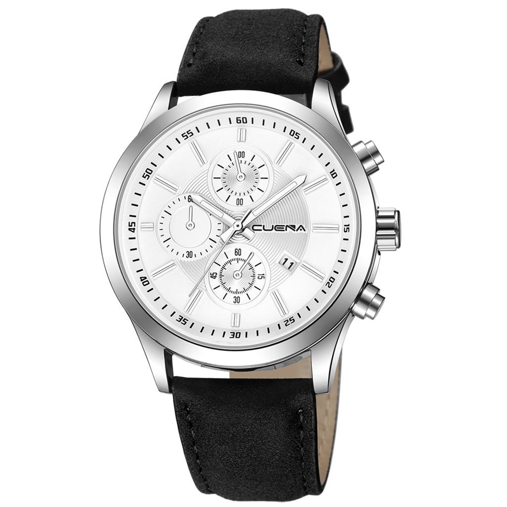 HTB1WR6cajnuK1RkSmFPq6AuzFXas Fashion mens watches top brand luxury business sport quartz wrist watch leather watchband women watches ladies dress clock USPS