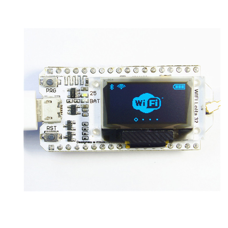 LoRa ESP32 OLED Blue 0.96 inch Display Bluetooth WIFI Lora Kit 32 Module SX1278 Internet Development Board Antenna for Arduino
