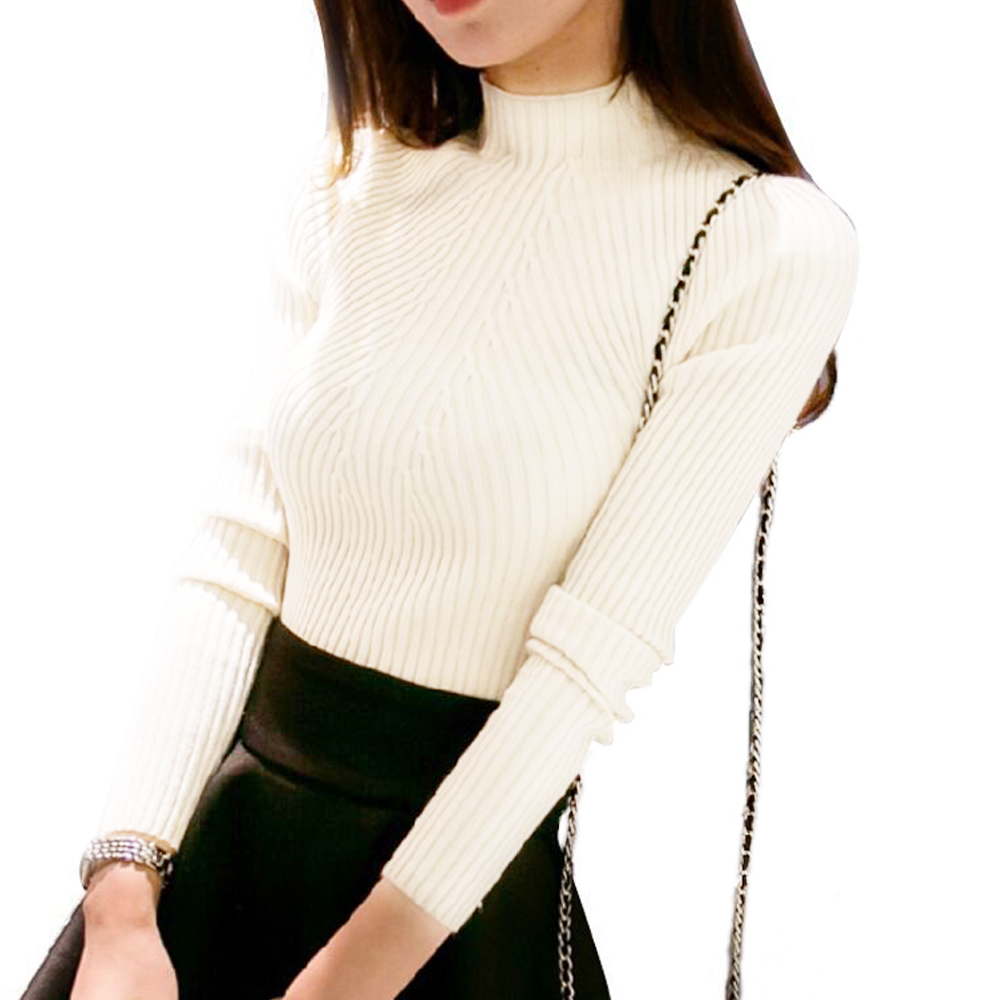 Vessos Tops Sweater Lady Spring Knitwear Fashion Warm Design Pullover Cotton One Size