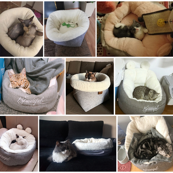 Soft Comfortable Cat Bed 3