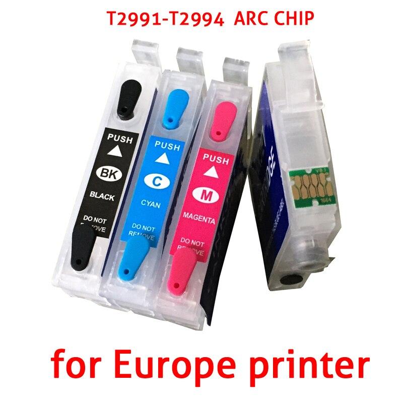 299 T299XL T2991 cartuccia di Inchiostro + autoreset chip di arc Per Epsonxp-235 xp-245 xp-247 xp-332 xp-335 xp-342 xp-345 xp-432 xp-435 445