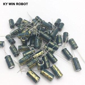 Image 4 - 50 ADET Alüminyum Kapasitörler 1000 uF 108 20% 8*16mm 16 V 1000000nF 1000000000pF Diameter8mm