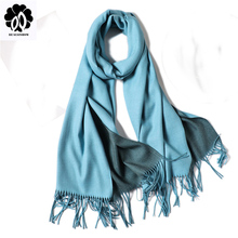 REALSISHOW Cashmere Scarf Men New Winter Women Scarves Fashion Solid Double-side Shawl and Wraps Bandana Female Thicken Tassel