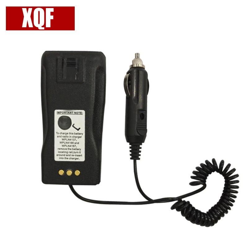 XQF Mobile Battery Eliminator + Adaptor GP3688 For MOTOROLA GP3188 GP3688 CP040 EP450 PR400 Walkie Talkie Two Way Radio