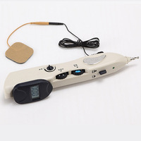 Hot sell of needleless electronic acupuncture pen electronic acupuncture pen electronic pulse stimulator laser magnetic machine