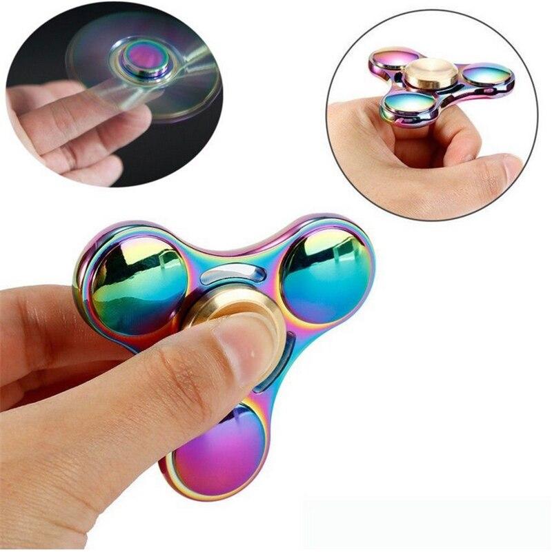 New Arrivals Spinner Fingers Gyro EDC Fidget Hand Spinner Torqbar Handmade Spin Gyro Focus ADHD Autism
