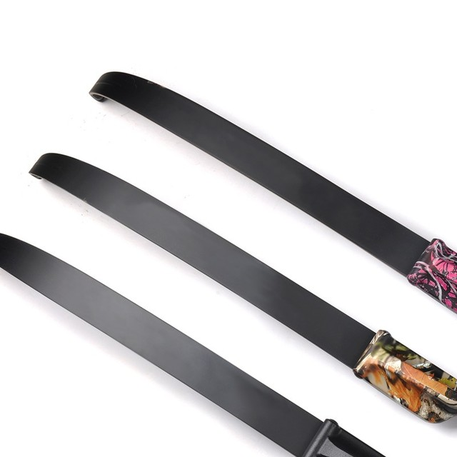 2 pcs Mixed Material Take Down Bow Limbs 30-50 lbs Bow Accessory for JUNXING F177/F179 DIY Archery Hunting Shooting