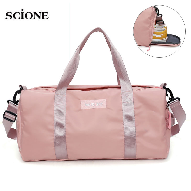 Yoga Mat Bag Fitness Gym Bags Dry Wet Tas Handbags For Women Men Shoes Travel Training sac De Sport bolsa gymtas Duffel XA545WA(China)