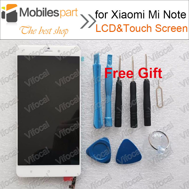 ФОТО LCD Screen for Xiaomi Mi Note New Replacement Accessories LCD Display +Touch Screen for Xiaomi Mi Note 5.7inch 1920*1080 FHD