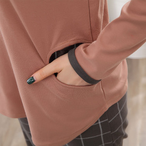 Image 5 - גבוהה באיכות 100% כותנה זוג פיג מה סטים ארוך שרוול Cartoon נשים פיג מה סט מזדמן בגדים מקורה פיג נשים