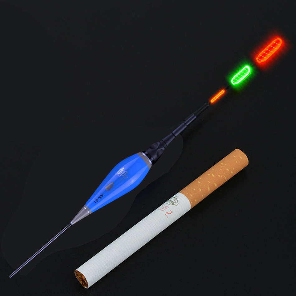 Image 2 - Shallow Water Carp&Crucian Night Fishing Float LED Electric Float Light Fishing Tackle Luminous Electronic Float+CR425 Battery-in Fishing Float from Sports & Entertainment